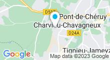 Plan Carte Piscine Tournesol à Charvieu Chavagneux