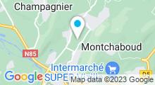 Plan Carte Piscine du Clos Jouvin à Jarrie