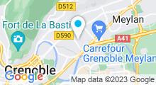 Plan Carte Piscine à La Tronche
