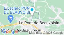 Plan Carte Piscine au Pont de Beauvoisin