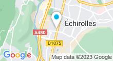 Plan Carte Piscine Flottibulle à Pont de Claix