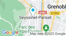Plan Carte Piscine à Seyssinet Pariset