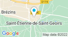Plan Carte Piscine de Saint Etienne de Saint Geoirs