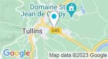Plan Carte Piscine à Tullins