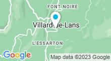 Plan Carte Centre aqualudique - Piscine à Villard de Lans