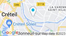 Plan Carte Piscine Caneton à Saint-Maur-des-Fossés