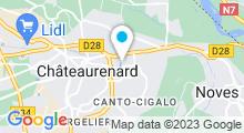 Plan Carte Piscine de Chateaurenard