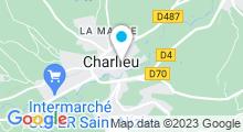 Plan Carte Piscine de Charlieu