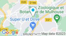 Plan Carte Piscine de l'Illberg à Mulhouse