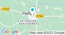 Plan Carte Piscine du Pont d'Oust de Peillac