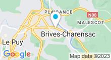 Plan Carte Piscine à Brives Charensac