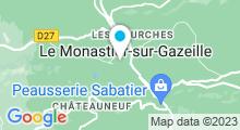 Plan Carte Piscine à Le Monastier sur Gazeille
