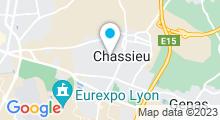 Plan Carte Centre nautique - Piscine de Chassieu