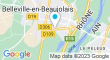 Plan Carte Piscine de Belleville