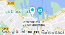 Plan Carte Piscine Chantereyne à Cherbourg-Octeville