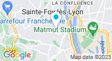 Plan Carte Piscine de La Mulatière