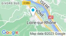 Plan Carte Piscine de Loire sur Rhône