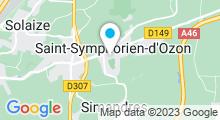 Plan Carte Piscine de Saint Symphorien d'Ozon