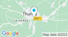 Plan Carte Piscine d'été de Thurins