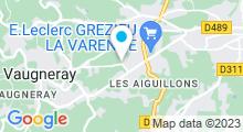 Plan Carte Centre Nautique des Vallons du Lyonnais - Piscine à Vaugneray