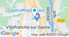 Plan Carte Centre Aquatique Le Nautile - Piscine à Villefranche-sur-Saône