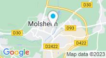 Plan Carte Piscine de Plein Air de Molsheim