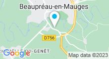 Plan Carte Piscine Aqua'Mauges à Beaupreau