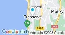 Plan Carte Centre Aquatique Aqualac - Piscine d'Aix-les-Bains