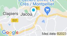 Plan Carte Piscine Alex Jany à Jacou