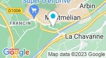 Plan Carte Centre Nautique - Piscine de Montmélian