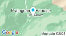 Plan Carte Piscine de Pralognan La Vanoise