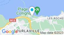 Plan Carte Piscine de Collignon à Tourlaville