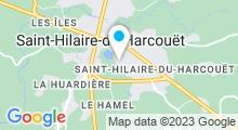 Plan Carte Complexe aquatique des 3 provinces - Piscine à St Hilaire du Harcouët
