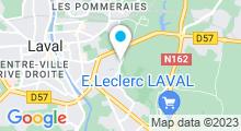 Plan Carte Piscine Saint Nicolas à Laval