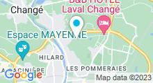 Plan Carte Piscine Aquabulle à Laval