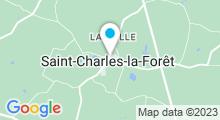 Plan Carte Piscine à Saint Charles la Forêt