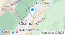 Plan Carte Centre Aquatique Richard Bozon - Piscine de Chamonix