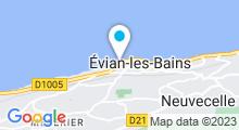 Plan Carte Piscine d'Evian