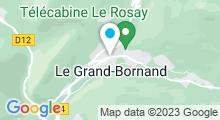 Plan Carte Piscine au Grand Bornand