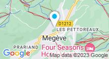 Plan Carte Piscine de Megève