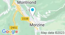 Plan Carte Centre aquatique - Piscine de Morzine