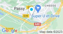 Plan Carte Piscine de Marlioz à Passy