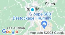 Plan Carte Piscine de Rumilly