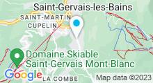 Plan Carte Piscine de Saint Gervais les Bains