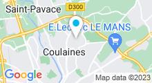 Plan Carte Piscine à Coulaines