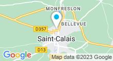 Plan Carte Piscine à Saint Calais
