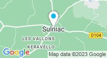 Plan Carte Piscine la Lande du moulin à Sulniac