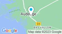 Plan Carte Bassin de baignade d'Audenge