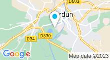 Plan Carte Base de loisirs du Pré l'Evêque à Verdun