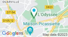 Plan Carte Piscine l'Odyssée à Chartres